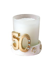 cheap -Beach Theme / Classic Theme Candle Favors - 1 pcs Wax PVC Box