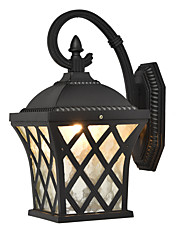 cheap -Creative Retro Vintage / Novelty Wall Lamps & Sconces Dining Room / Indoor / Shops / Cafes Metal Wall Light IP 65 220-240V 40 W / E27