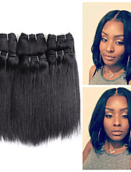 cheap -Remy Human Hair Hair weave Best Quality / New Arrival / For Black Women Peruvian Hair Mid Length 300 g More Than One Year Stage / Carnival / Wedding Party