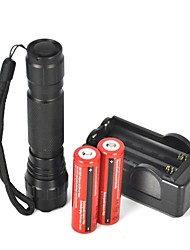 cheap -2000 lm LED Flashlights / Torch LED 1 Mode