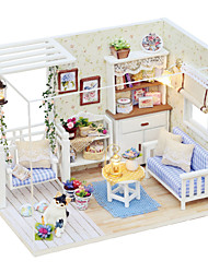 cheap -Dollhouse DIY Exquisite Parent-Child Interaction Furniture Wooden 1 pcs Child's Toy Gift