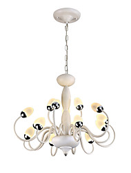 cheap -ZHISHU Novelty Chandelier Ambient Light Painted Finishes Metal Creative, New Design 110-120V / 220-240V Bulb Included / LED Integrated