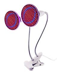 Недорогие -1шт 20 W Растущая лампа 1500 lm E26 / E27 200 Светодиодные бусины SMD 2835 Полного спектра Декоративная Гибкий зажим для держателя лампы Красный Синий 85-265 V