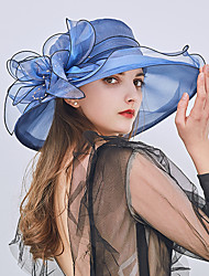 cheap -Tulle Headwear with Cap 1pc Wedding / Party / Evening / Tea Party Headpiece
