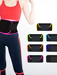 cheap -Sweat Waist Trimmer Sauna Belt 1 pcs Sports Rubber Yoga Exercise & Fitness Workout Non Toxic Weight Loss Tummy Fat Burner Calories Burned For Waist Sports Outdoor