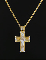 cheap -Men's Pendant Necklace Chain Necklace Cuban Link Alloy Gold 60 cm Necklace Jewelry 1pc For Street Club