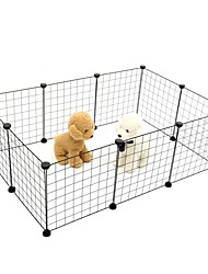 cheap -Dogs Rabbits Cats Cages Baskets Other Leather Type Mini Durable Solid Colored White Black