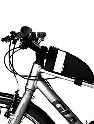 Недорогие -SAHOO Бардачок на раму 6.5 дюймовый Водонепроницаемость Компактность Велоспорт для Велосипедный спорт Все Сотовый телефон Черный Шоссейные велосипеды Велосипедный спорт / Велоспорт