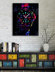 "cheap -Wall Clock,Modern Style Plastic Square Indoor 16"" x 24"" (40cm x 60cm) 11"" x 16""(28cm x 40cm) 14"" x 20""(35cm x 50cm)"