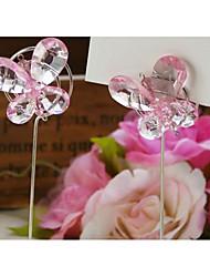 cheap -Wedding Card Holder Crystal / Iron Wedding Decorations Wedding / Anniversary Beach Theme / Butterfly Theme / Wedding All Seasons