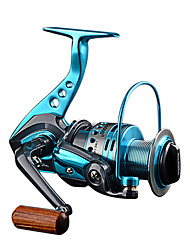 cheap -Fishing Reel Spinning Reel 5.5:1 Gear Ratio+12 Ball Bearings Sea Fishing / Lure Fishing / Hand Orientation Exchangable