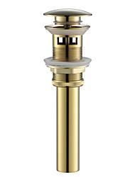 abordables -Accessoire de robinet - Qualité supérieure - contemporain Laiton Drain d'eau avec trop-plein - terminer - Others