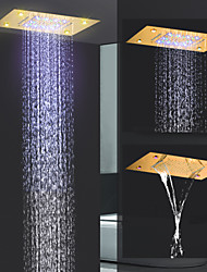cheap -Contemporary Rain Shower Ti-PVD Feature - Rainfall / New Design, Shower Head LED
