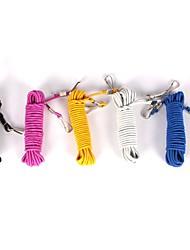 Недорогие -Веревка Шнур Износостойкий Легко для того чтобы снести Легкий вес Прост в применении Ткань Черный Розовый Желтый 2 pcs