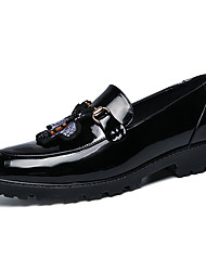 cheap -Men's Formal Shoes Faux Leather Fall & Winter Loafers & Slip-Ons Gold / Black / Wedding / Party & Evening / Wedding / Party & Evening