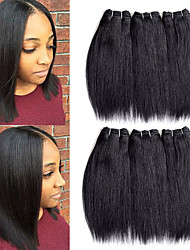 cheap -Remy Human Hair Hair weave Best Quality / New Arrival / For Black Women Brazilian Hair Mid Length 300 g More Than One Year Stage / Carnival / Wedding Party