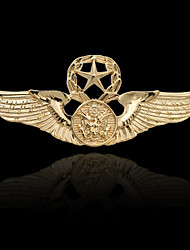 cheap -Men's Brooches Stylish Elegant Trendy Fashion Brooch Jewelry Gold Silver For Daily Holiday