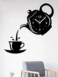 cheap -Modern / Contemporary Plastic & Metal Irregular Indoor / Outdoor,AA Batteries Powered Wall Clock 31*22*5cm
