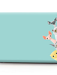 cheap -MacBook Case Cartoon PVC for Apple Macbook Air Pro Retina 11 12 13 15 Laptop Cover Case for Macbook New Pro 13.3 15 inch with Touch Bar