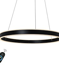 cheap -1-Light 60 cm Dimmable Chandelier Aluminum Circle Painted Finishes LED 110-120V / 220-240V