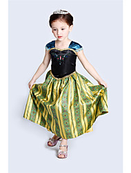 cheap -Alice's Adventures in Wonderland Anna Kushina Dress All Movie Cosplay Yellow Skirt Carnival Children's Day New Year