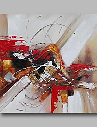 cheap -Oil Painting Hand Painted Abstract Comtemporary / Modern Canvas With Stretched Frame