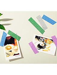 abordables -Couleur unie / Moderne Papier gaufré Rubans de mariage - 1 pcs Pièce / Set Tatouages Autocollants Salon / Salle à Manger / Décoration Soirée Mariage / Déco d'Intérieur
