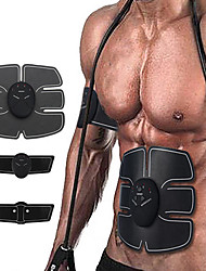 cheap -Abs Stimulator Abdominal Toning Belt EMS Abs Trainer Sports Fitness Gym Workout Electronic Wireless Muscle Toner Weight Loss Ultimate Training For Men Women Leg Abdomen Home Office