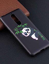 cheap -Case For Nokia Nokia 8 / Nokia 6 / Nokia 5 Pattern Back Cover Panda Soft TPU
