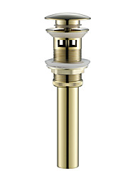 cheap -Faucet accessory - Superior Quality - Contemporary Brass Pop-up Water Drain With Overflow - Finish - others