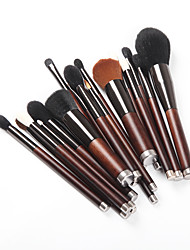 cheap -19pcs-makeup-brushes-professional-skin-care-wool-fiber-full-coverage-wooden-bamboo