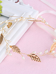 cheap -Alloy Headbands with Imitation Pearl 1pc Wedding / Party / Evening Headpiece