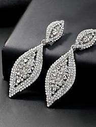 cheap -Women's Drop Earrings Long Drop European Fashion Earrings Jewelry Silver For Wedding Daily 1 Pair