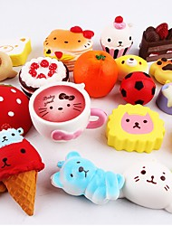 cheap -Squishy Squishies Squishy Toy Squeeze Toy / Sensory Toy Food Cake Dessert Soft Stress and Anxiety Relief Kawaii For Kid's Adults' Boys' Girls' Gift Party Favor 10 pcs / 14 years+
