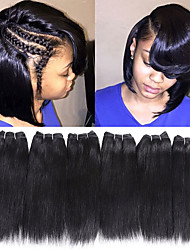 cheap -Remy Human Hair Hair weave Best Quality / New Arrival / For Black Women Indian Hair Mid Length 300 g More Than One Year Stage / Carnival / Wedding Party