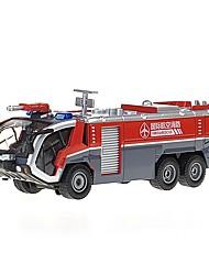 Недорогие -1:50 Игрушечные машинки Грузовик Транспортер грузовик Пожарные машины Грузовик Пожарная машина Вид на город Cool утонченный Металл