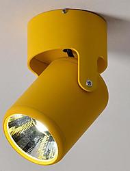 cheap -7-Light 8 cm Spot Light Metal Mini Painted Finishes LED Modern 220-240V
