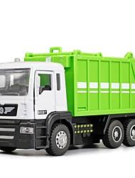 Недорогие -1:32 Игрушечные машинки Транспорт Машина для регенерации дорожного покрытия Вид на город утонченный Металл