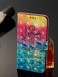 cheap -Case For Samsung Galaxy J8 / J7 Duo / J2 PRO 2018 Wallet / Card Holder / Flip Full Body Cases Word / Phrase Hard PU Leather