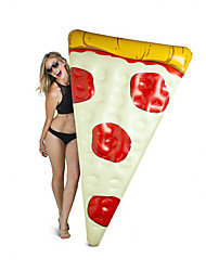 cheap -Pizza Inflatable Pool Floats PVC Inflatable Durable Swimming Water Sports for Adults 182*122 cm