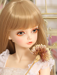 cheap -OuenElfs Girl Doll Ball-joined Doll / BJD Blythe Doll Baby Girl Reborn Baby Doll 22 inch Full Body Silicone - Cute Exquisite High-Temperature Resistant Fibre Wigs Kid's Unisex / Girls' Toy Gift