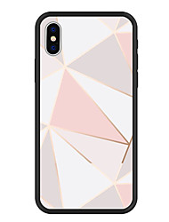 cheap -Case For Apple iPhone XS / iPhone XR / iPhone XS Max Pattern Back Cover Geometric Pattern Hard Acrylic