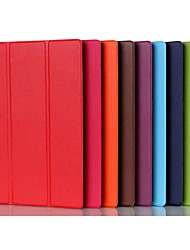 cheap -Case For Lenovo Lenovo Tab 3 10 Plus with Stand / Magnetic Full Body Cases Solid Colored Hard PU Leather