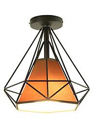 cheap -Vintage Loft Simple Mini Diamond Shape Ceiling Lamp Flush Mount Lights Entry Hallway Game Room Kitchen Light