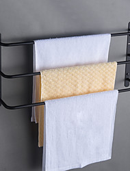 cheap -Bathroom Accessory Set / Towel Bar / Bathroom Shelf Creative / Multilayer / New Design Contemporary / Antique Stainless Steel 1pc - Bathroom / Hotel bath 3-towel bar Wall Mounted