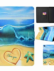 cheap -Case For Apple iPad (2018) / iPad (2017) Card Holder / with Stand / Auto Sleep / Wake Up Full Body Cases Sexy Lady / Animal / Dream Catcher Hard PU Leather
