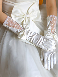 cheap -Spandex Fabric Elbow Length Glove Vintage Style / Gloves With Solid