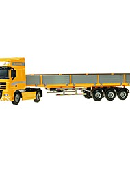 cheap -1:50 Toy Car Truck Transporter Truck Construction Vehicle Truck Construction Truck Set City View Cool Exquisite Metal Mini Car Vehicles Toys for Party Favor or Kids Birthday Gift 1 pcs