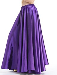 cheap -Belly Dance Bottoms Women's Performance Spandex Ruching Natural Skirts