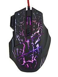 cheap -LITBest S01 Wired USB Gaming Mouse Led Light 4 Adjustable DPI Levels Keys 6 Programmable Keys